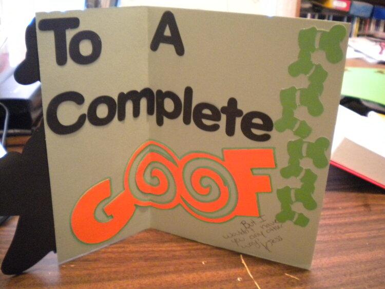 goof card