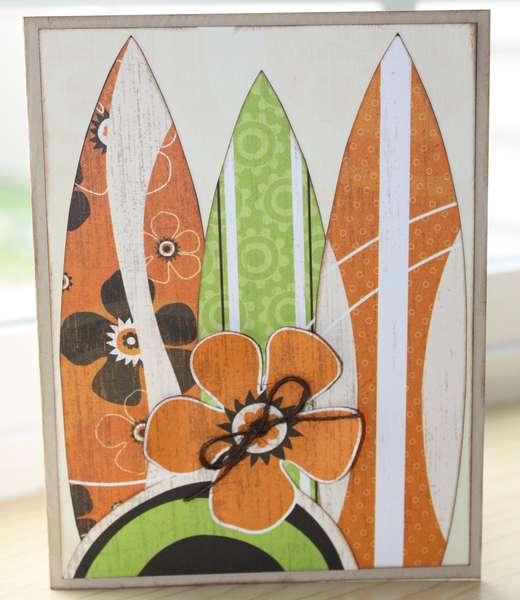 Surfboard Card