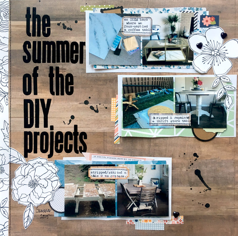 The Summer of the DIY Projects