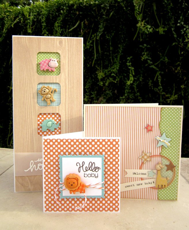 Welcome Baby cards