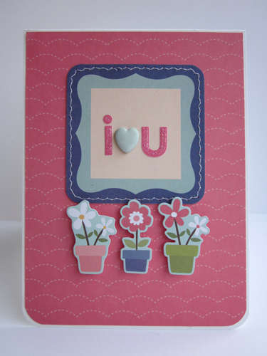 i *heart* u card *My Little Shoebox*