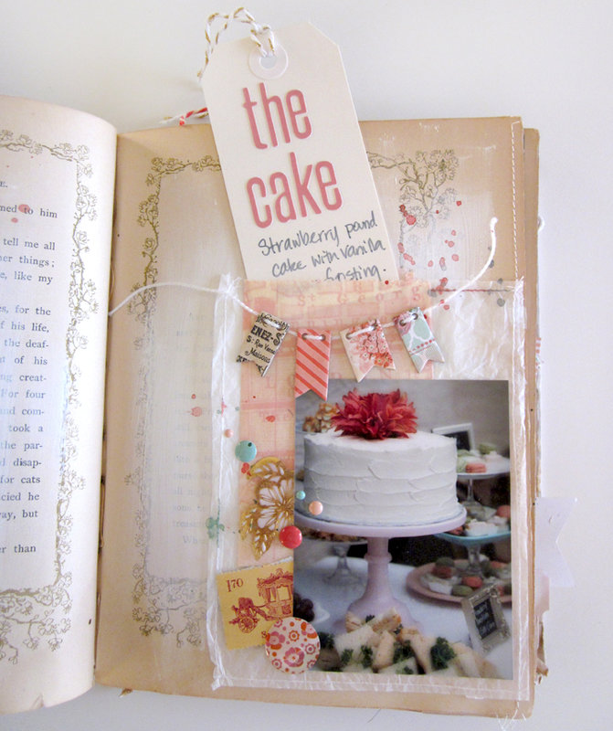 Bridal Shower Altered Book