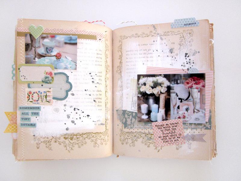 Bridal Shower Altered Book