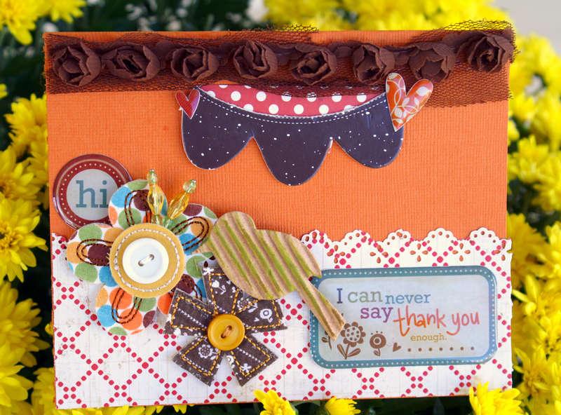 """Hi Thank You """"My Scrapbook Nook Oct Kit"""""""