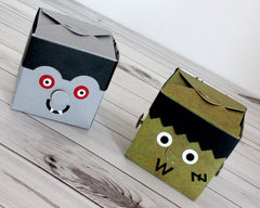 Moxxie Halloween Monster Treat Boxes