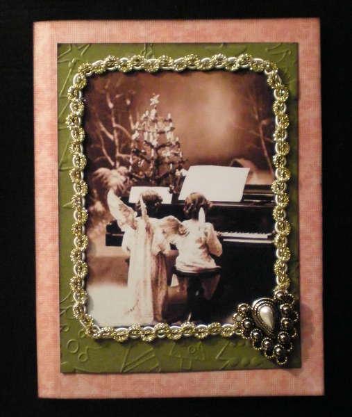 Vintage Christmas card#3