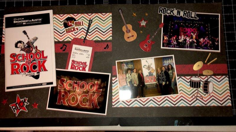 School Of Rock, Bass Concert Hall, Austin, Texas