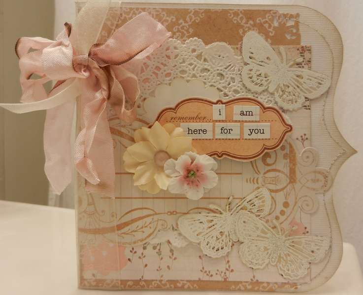 Shaped Sympathy Card