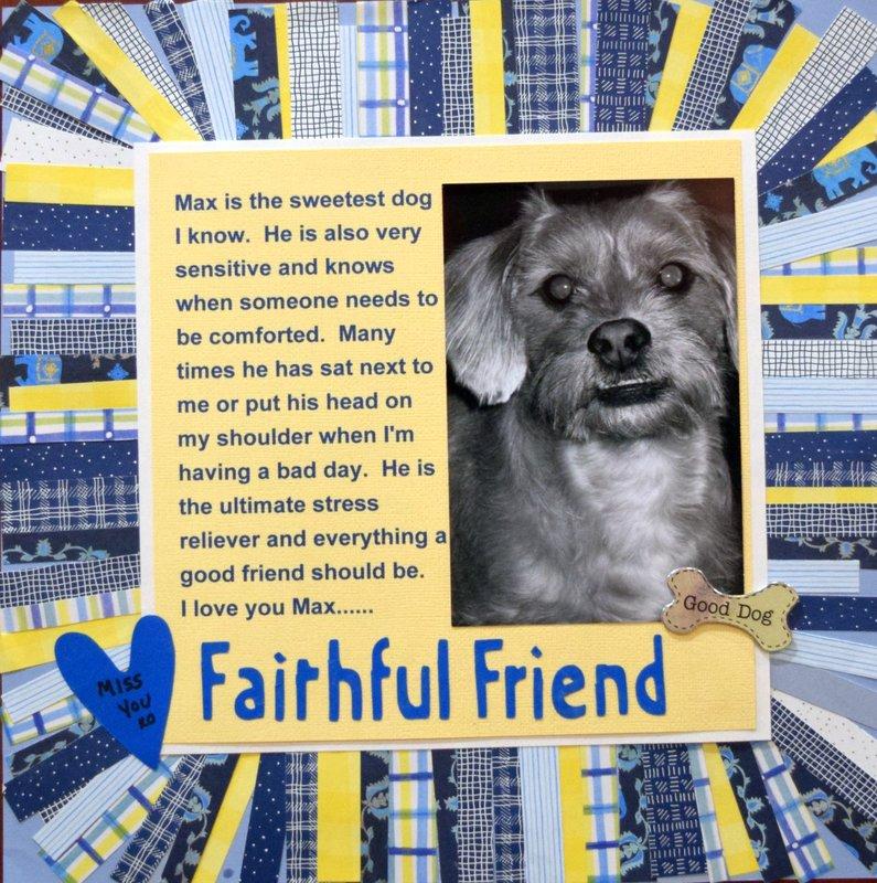Max the Faithful Friend