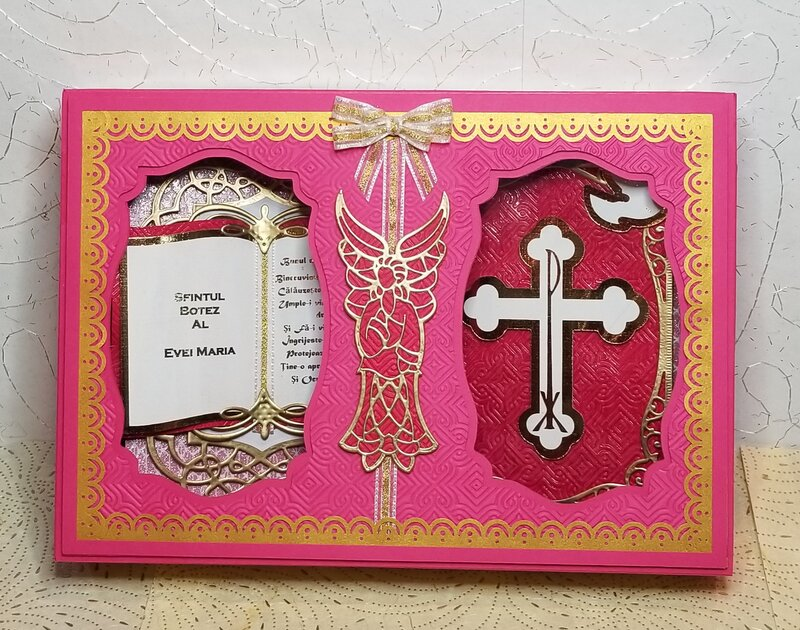 Girl Baptism Card