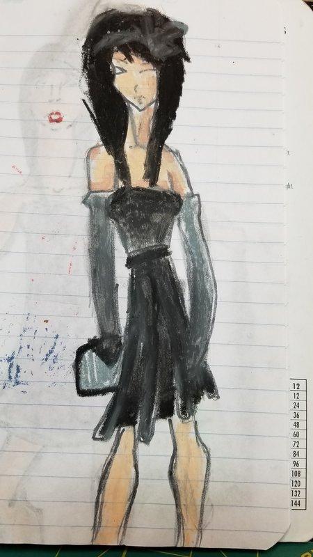 Clothes Designer or Modigliani?
