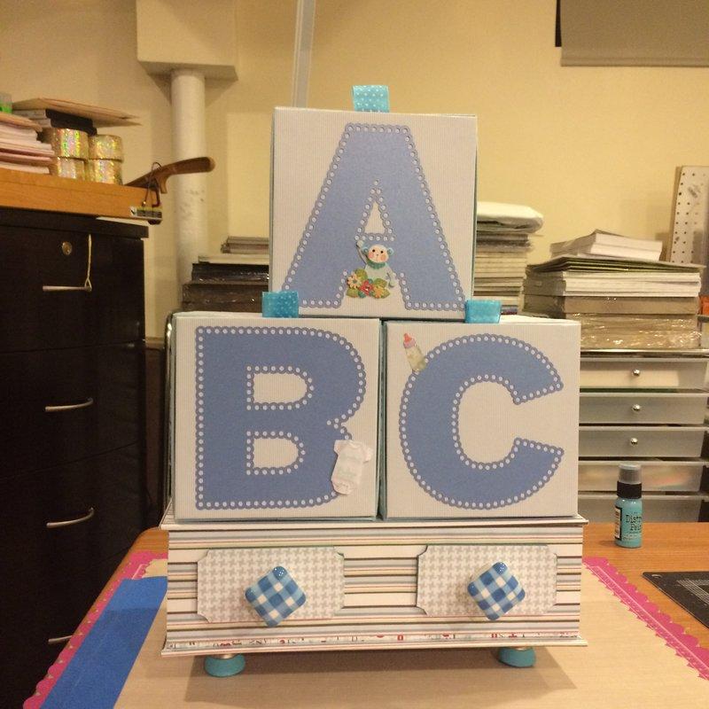 ABC Blocks - Baby Blocks with Mini Albums