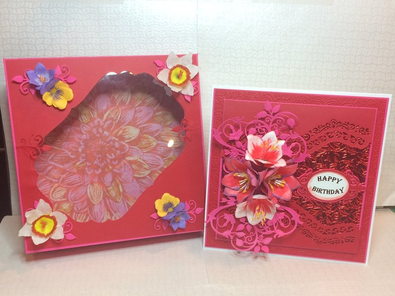 Spring Flowers Birthday Card