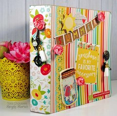 Summer Days mini scrapbook!