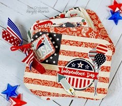 'All American' mini flip book!