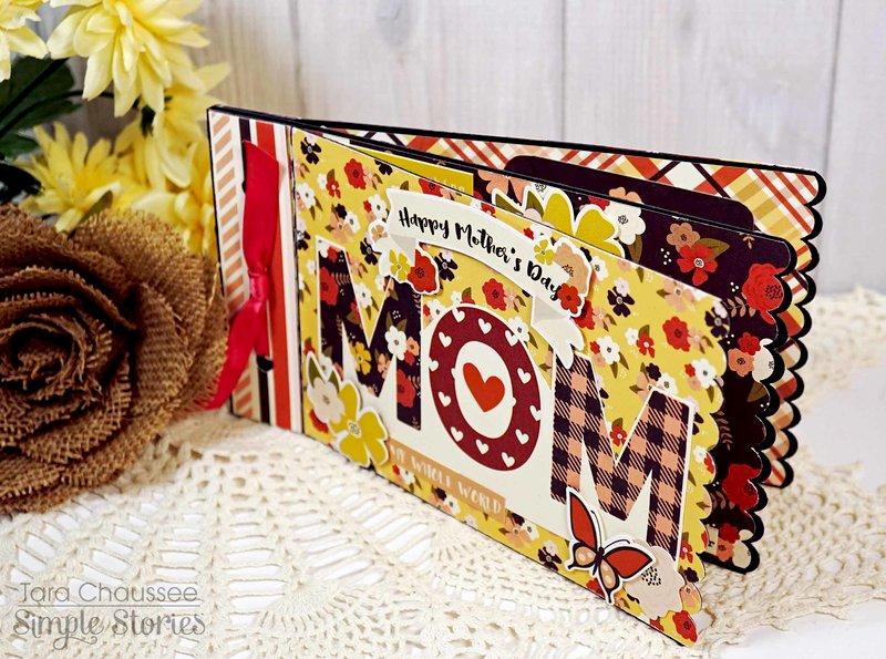 Mom Mini Album Card!