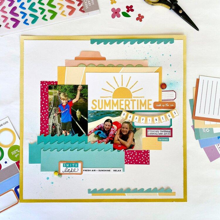 Summertime Happiness  *Elle's Studio*