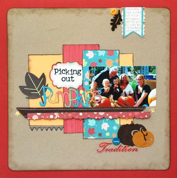 Picking Out Pumpkins *Noel Mignon kit*