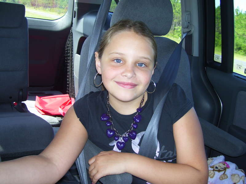 My sweet daughter, at age 11.