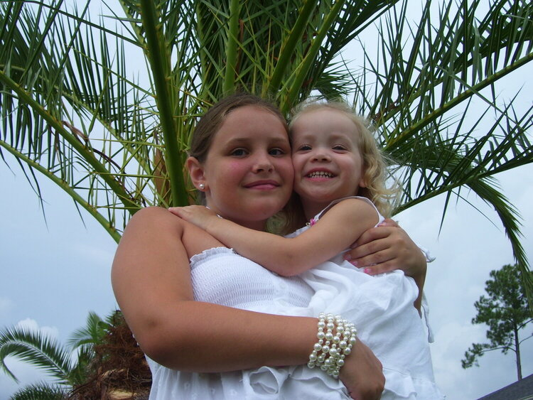 My 2 girls that I adore to pieces!