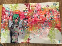 Lg Art Journal - Sprinkle Love