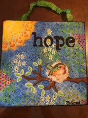 Canvas for Aunt Karin