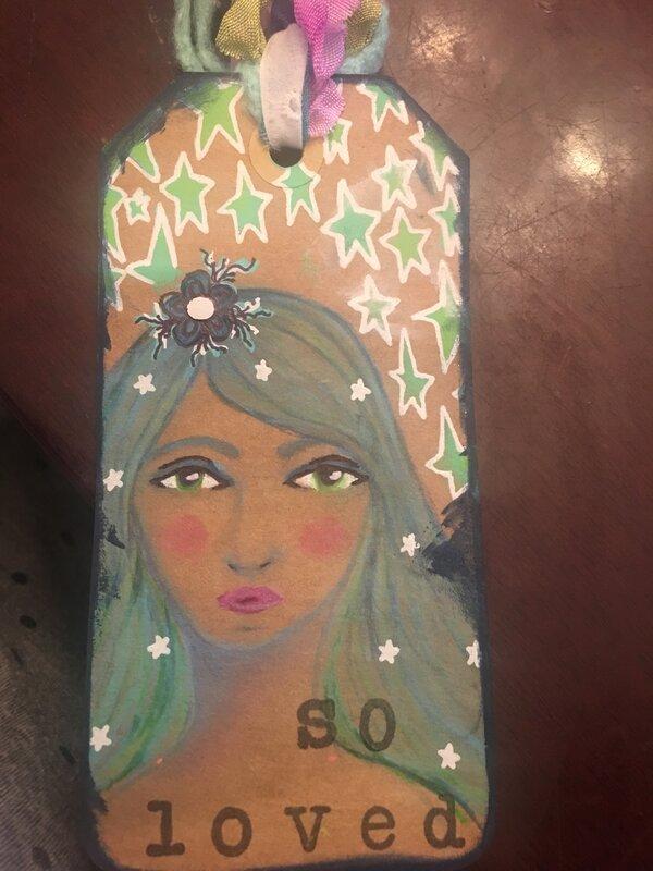 Bookmark for cousin Monica