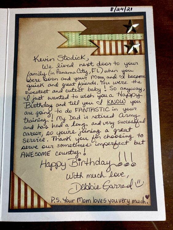 BD card - K. Stodick (inside message)