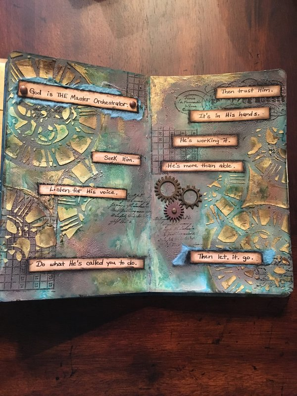 The Master Orchestrator - my art journal