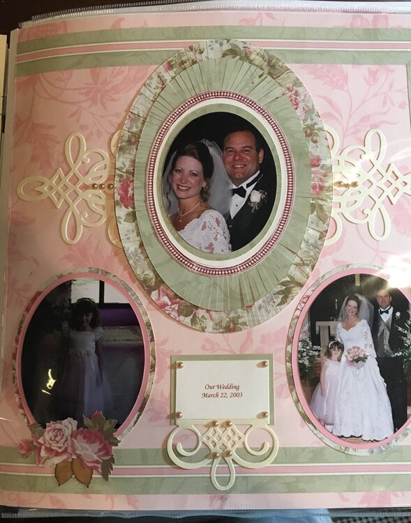 Baby Scrapbook - Our Wedding Day