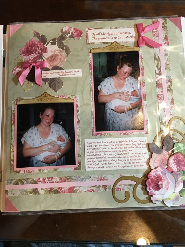 Baby Scrapbook - In His time