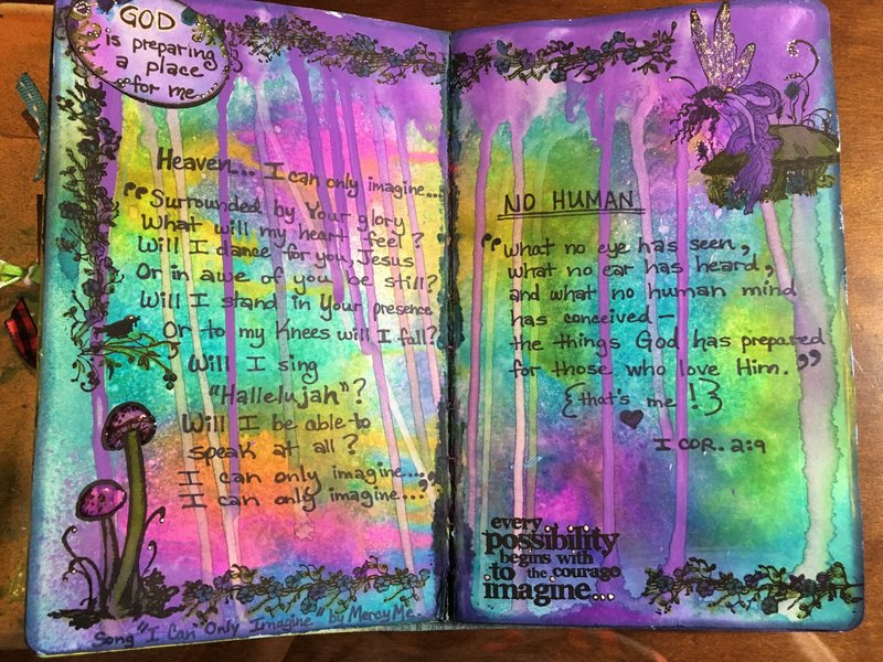 Art Journal - I Can Only Imagine