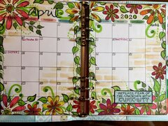 Alyssa�s planner - April