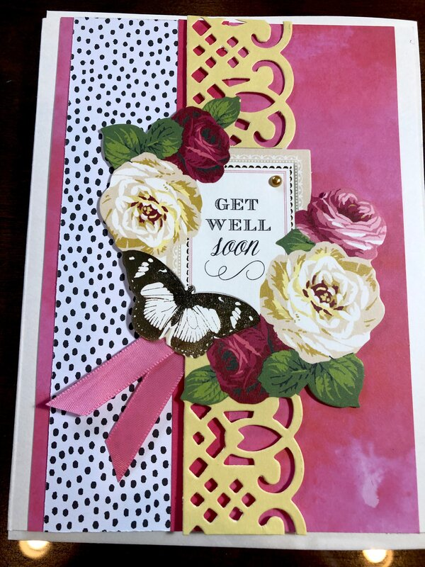 Get well card for Judith