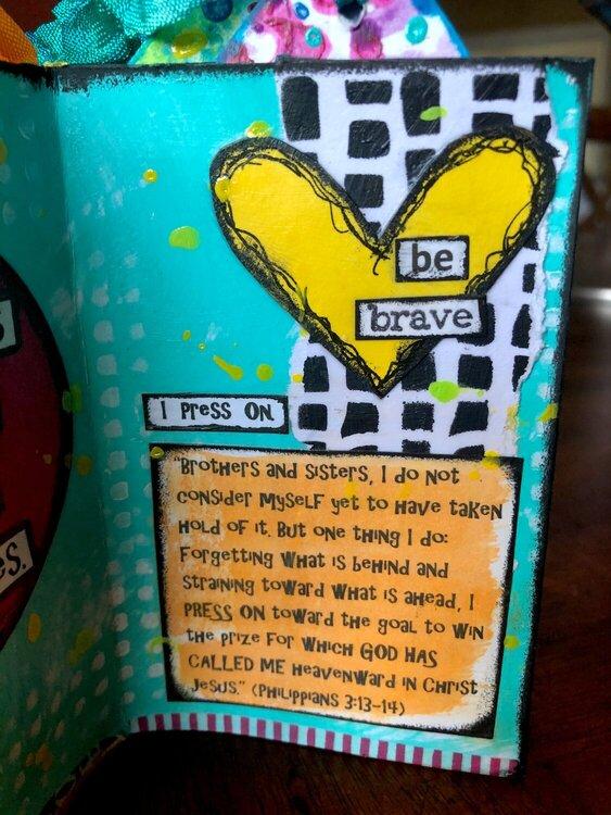 Mini book - Paula (be brave)