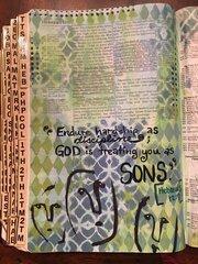 Bible Journal - treating as Sons.