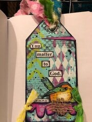 Bookmark for 3 ladies (alt side)