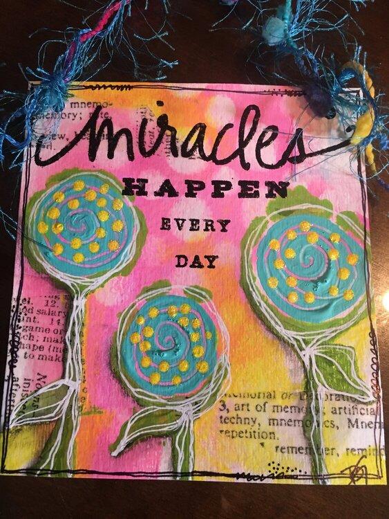 Miracles Happen - for D.Weller