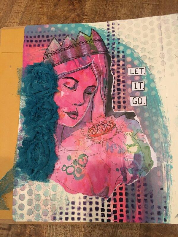 Lg art journal - Let It Go