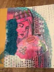 Lg art journal - Let It Go