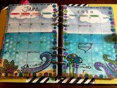 My planner - June