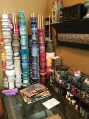 Scrap room - Ribbon Storage