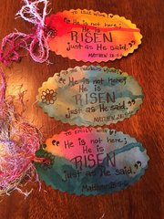 Easter tags for Easter gifts.