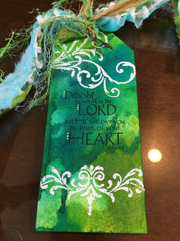 Book mark for friend Phyllis