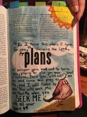 Bible Journal - M.Garred (Plans I have for you)