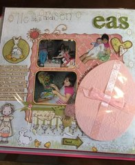 Easter layout (left pg)