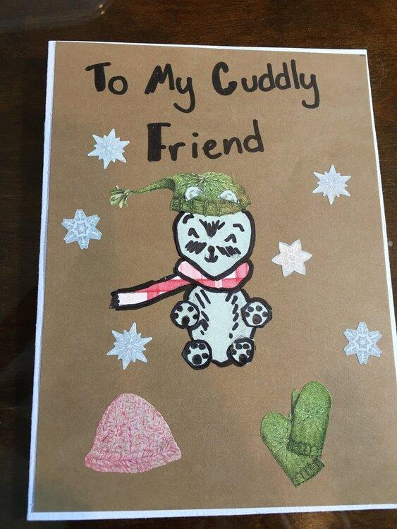 Emily's card for Tiff