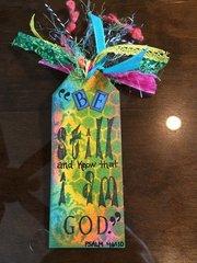 Bookmark (Side 1):  Be Still...
