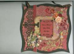 Virtuous Woman - Wall Hanging present