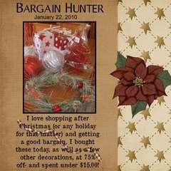 Bargain Hunter p365 day 22